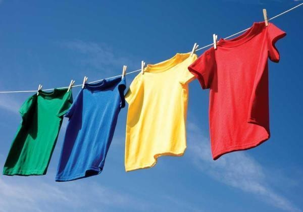 sun prevents the clothes from smelling damp clothes